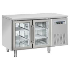 2-Door Worktop Fridge 70-cm Depth +3°C/+10°C