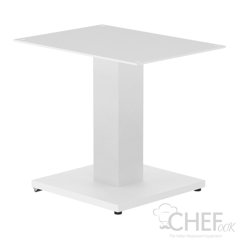 Table Support For Horizontal Ice Cream Display Case 2 Bowls