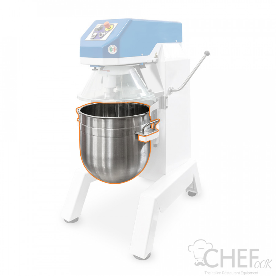 Stainless Steel Bowl For Planetary Mixer Series CHPLZ chefook