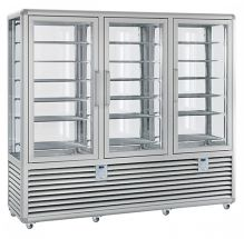 Commercial Upright Ice Cream Display Freezer 1388 Litres