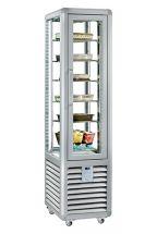Commercial Upright Ice Cream Display Freezer 250 Lt