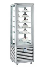 Commercial Upright Ice Cream Display Freezer  360 Litres