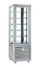 Refrigerated Vertical Glass Cake Display Cabinet 360 Litres