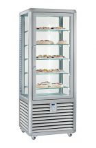 Refrigerated Vertical Glass Cake Display Cabinet 427 Litres