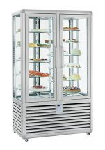 Refrigerated Vertical Glass Cake Display Cabinet 742 Litres