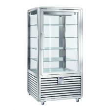 Refrigerated Vertical Glass Cake Display Cabinet 832 Litres