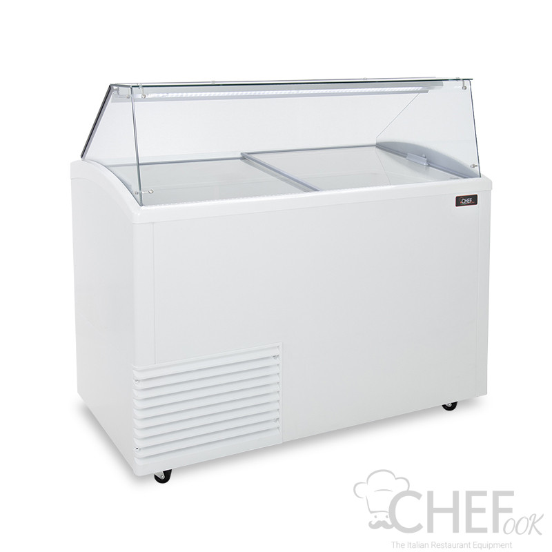 Ice Cream Display Freezer 10  x 5-Litre Tubs