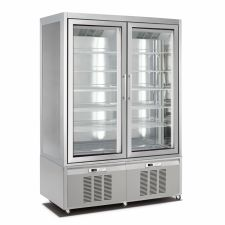 Vertical Cake and Ice Cream Display Fridge/Freezer 840 Lt CHNF136191D