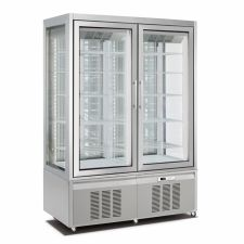 Vertical Cake and Ice Cream Display Fridge/Freezer 850 Lt CHNF136194