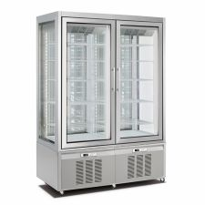 Vertical Cake and Ice Cream Display Fridge/Freezer 840 Lt CHNF136194D
