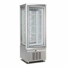 Vertical Cake and Ice Cream Display Fridge/Freezer 420 Lt CHNF76194