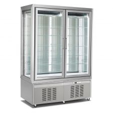 Refrigerated Vertical Glass Cake Display Cabinet Classic Line 840 Litres CHPS136191D