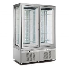 Refrigerated Vertical Glass Cake Display Cabinet 840 Litres