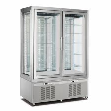 Refrigerated Vertical Glass Cake Display Cabinet 1200 Litres CHPS176194D