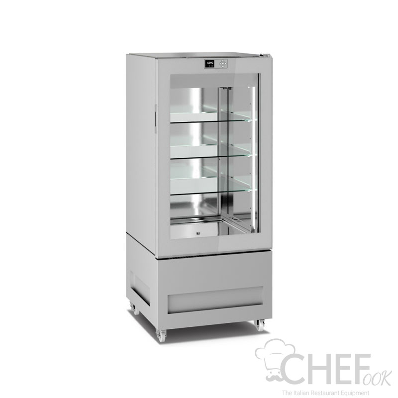 Commercial Upright Glass Cake Display Cabinet 300 Litres CHPS6615TL1