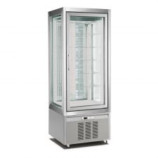 Refrigerated Vertical Glass Cake Display Cabinet 420 Liters CHPS76194