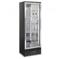 Refrigerated Stainless Steel Display Case For Beverages 293 Liters +1 / +10°C