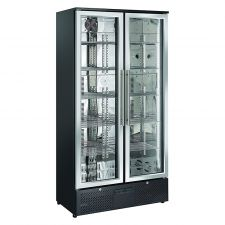 Refrigerated Stainless Steel Display Case For Beverages 458 Liters +1 / +10°C