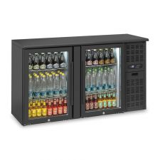 Back Bar Cooler, Undercounter Bar Fridge 315 Litres -1°C/+6°C Hinged Doors