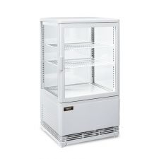 Coutertop Display Fridge White 58 Litres