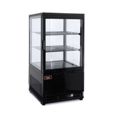 Coutertop Display Fridge Black 58 Litres
