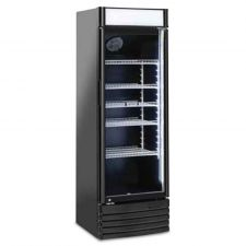 Commercial Drinks Fridge For Beverages  350 Liters +1/+10°C With Advertising Canopy