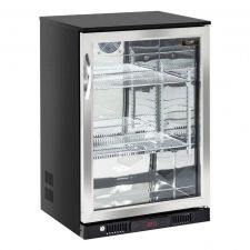 Back Bar Cooler, Bar Fridge 138 Litres +1°C/+10°C Hinged Door