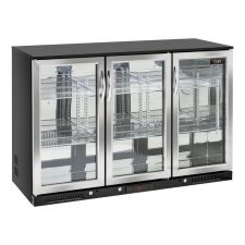 Back Bar Cooler, Bar Fridge 302 Litres +1°C/+10°C Hinged Doors