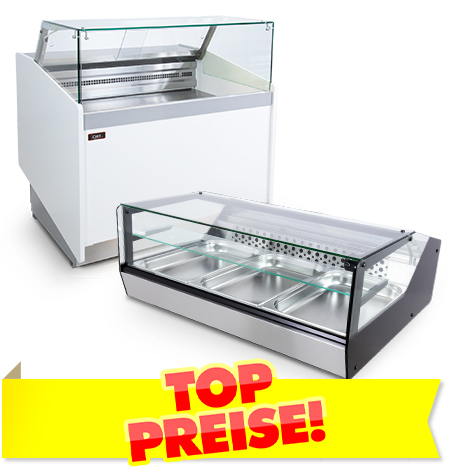Kühltheken für Bars und Cafés TOP PREISE