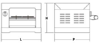 Commercial Toaster Quartz Resistance 2 Pliers 1600 W